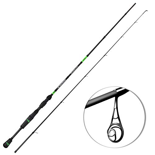 KastKing Resolute Fishing Rods, Spinning Rod 4ft 6in -Ultra Light - Moderate-2pcs