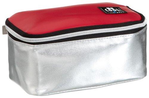alfi Be Cool 0007767000 Kühlmäppchen M, silber/rot 1,5 l