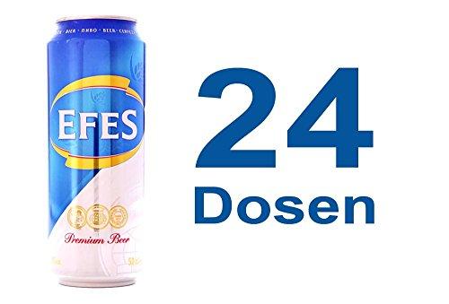 Efes Pilsener 24 x 0,5l Dose (inkl. 6 Euro Pfand) EINWEG