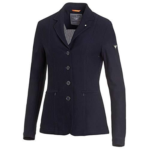 Schockemöhle Sports Damen Sakko SCH_AIR COOL Turniersakko, Turnierjacket, Jacket Größe L, Farbe Moonlight Blue