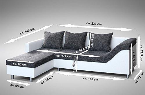 Ecksofa Couch –  günstig Sofa Couch  Eckcouch Bild 2*