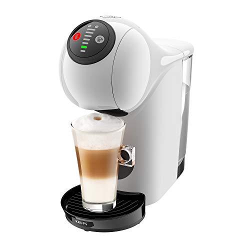 Krups KP2401 Nescafé Dolce Gusto Genio S Kaffeekapselmaschine | 15 bar | Heiß- und Kaltgetränke | LED-Kontrollrädchen | 0,8 L Wassertank | Auto-Off-Funktion | Weiß