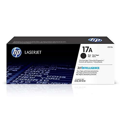 HP 17A | CF217A | Toner-Cartridge | Black | Works with HP LaserJet Pro M102, M130