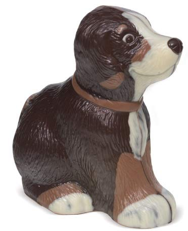 05#121620 Schokoladen Tiere, Muttertag, Hund, 150 gr. Bello, Geschenke,Tierfreund, Schokolade, NEU, Geschenk