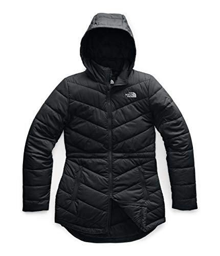 The North Face Women's Tamburello Insulated Parka - Long Winter Coat, TNF Black, M
