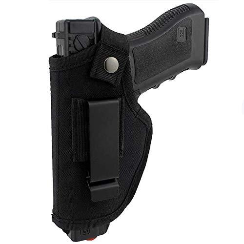 Gexgune Caza Funda Oculta Cinturón Bolsas de Pistola tácticas Cintura IWB OWB La Funda para Pistola se Adapta a Las Pistolas Grandes subcompactas para Dibujar con la Mano Derecha e Izquierda