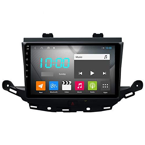 Nav Android 10.0 Car Stereo Double DIN para Buick Verano 2015-2017 Navegación GPS Unidad Principal de 9 Pulgadas Reproductor Multimedia MP5 Receptor de Video y Radio con 4G WiFi DSP