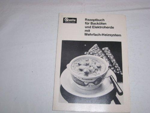 Rezeptbuch für Backöfen und Elektroherde mit Mehrfach Heizsysteme