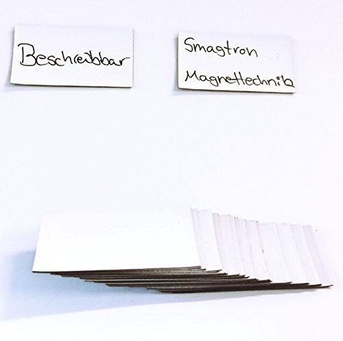 Smagtron Magnetic Label Tegels Pack van 75 60 x 34 x 0,5 mm