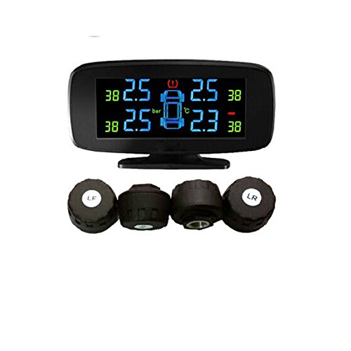 AUTOADAS YTT5W car tpms with 4 external sensors PSI/BAR tyre pressure monitoring system