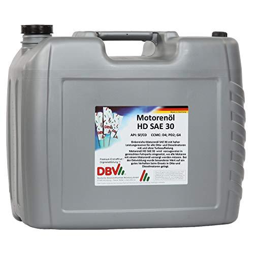 Motorenöl HD SAE 30 20-Liter-Kanister
