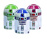 Underground Toys Star Wars Home Kitchen Storage Set Droid Toy (3 Pack)