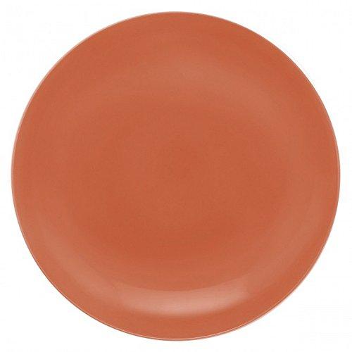 Guy Degrenne 207693 Modulo Lot de 6 Assiettes Creuse Porcelaine Vert 20,5 x 21,3 x 1,5 cm
