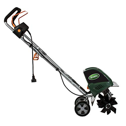 Scotts Outdoor Power Tools TC70105S 10.5-Amp 11-Inch Corded Tiller/Cultivator, Green