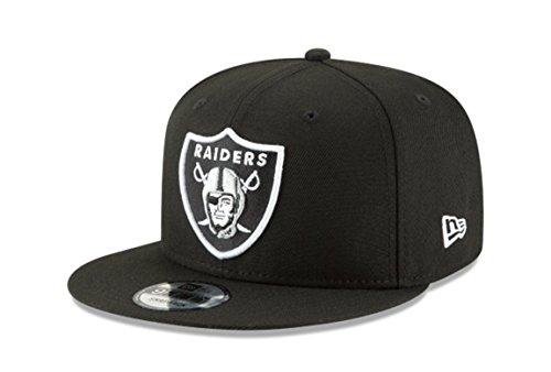 New Era NFL Oakland Raiders Shield Logo Block Back Snapback Cap 9Fifty NewEra