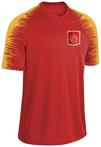 Blackshirt Company Spanien Trikot Fußball WM EM Fan Trikot Rot Größe XL