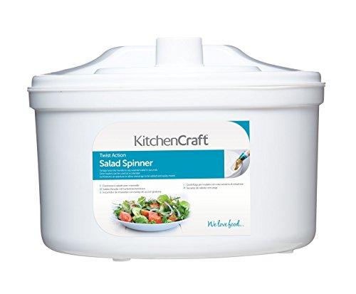Kitchen Craft KCSSP - Centrifugadora para ensalada
