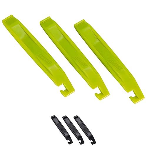 Bbb Cycling EasyLift BTL-81 Easy Lift-Juego de Palanca para neumáticos (3 Piezas), Unisex, Amarillo Fluorescente