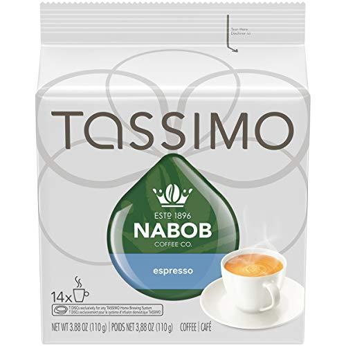 Tassimo Nabob Espresso Coffee - 14 T-discs for Tassimo Coffeemakers - Made in Canada