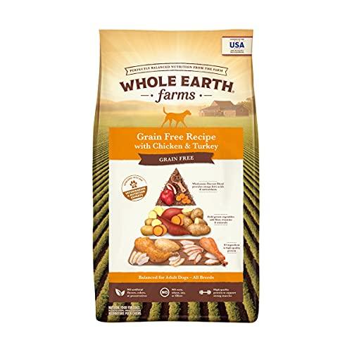 Whole Earth Farms Grain Free Recipe Dry Dog Food, Chicken &...