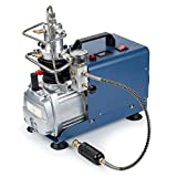 Sfeomi High Pressure Air Compressor Pump with Adjustable Pressure Auto Stop 300BAR 30MPA
