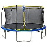 Trampolin Outdoor Jump Power, Kinder Gartentrampolin mit Sicherheitsnetz (430)