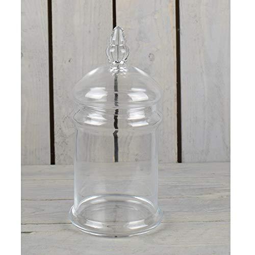 EMH helder glas pot Cookie zoete snoepjes opslag pot met deksel 28 cm