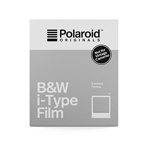 Polaroid Originals - i-Type noir et blanc 8 films