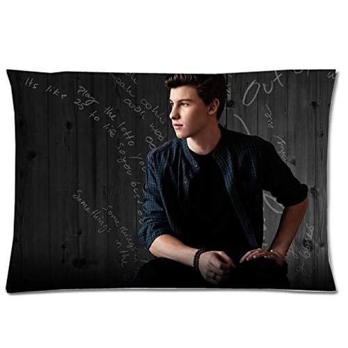 DESCENDANTS Shawn Mendes Two Side Print Pillow Case Rectangle Pillowcase Polyester Pillow Slip Custom Pillow Cover 50x75cm