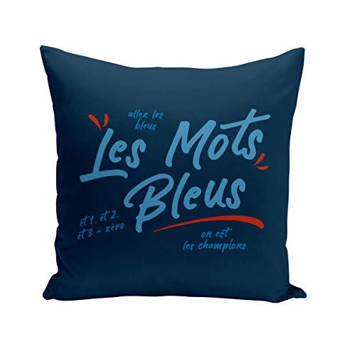 Fabulous Coussin 40x40 cm Les Mots Bleus Sport Foot Ballon France Team
