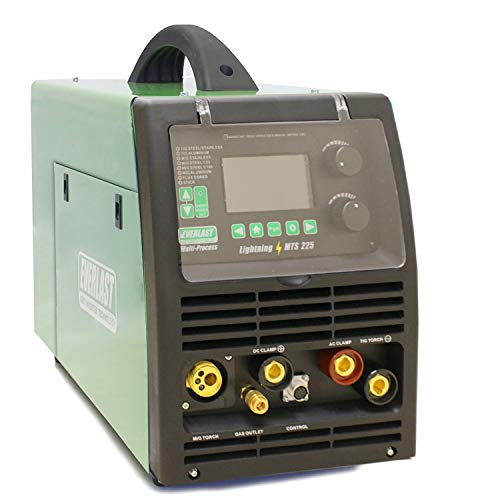 NEW 2020 LightningMTS 225 Welder AC/DC TIG with PULSE/MIG/Stick 200 Amp Dual Voltage 110v/220v
