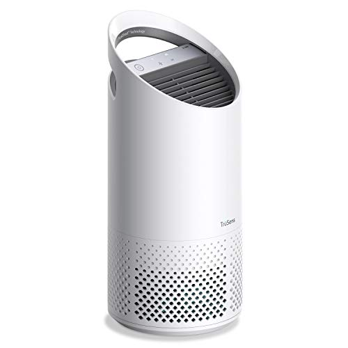 TruSens Air Purifier for Home | Filters Allergies, Pet Dander, Smoke, Odors, Germs, Bacteria, Dust, Mold, Pollen | HEPA Filter with UV-C Light Sanitizing Technology | Dual Airflow (Small)