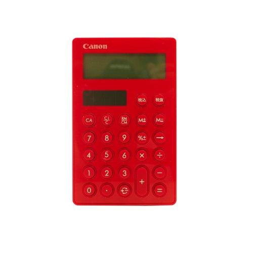 キヤノン 10桁 LS-SmartMINI-RD 赤 ストラップホール付き