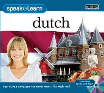Speak Learn Dutch PC 4 years warranty Vista Special price for a limited time OSX Windows 7 MAC