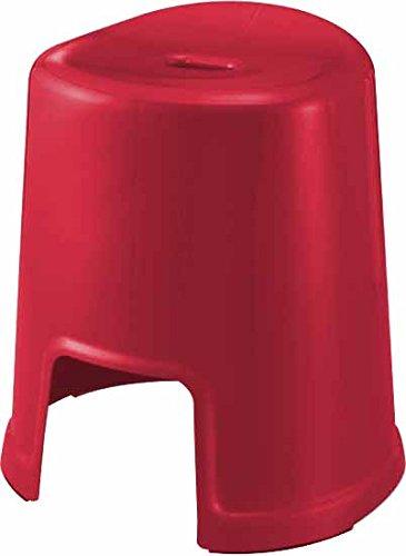 防カビ・Ag抗菌 (レッド) 風呂いす 高さ40cmタイプ favor