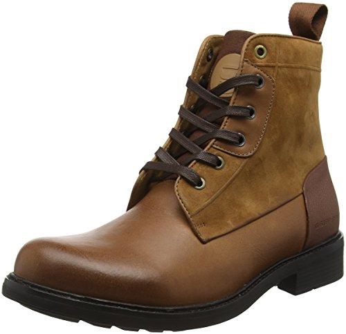 G-Star MYROW Leather, Bottes Rangers Homme, Marron (Chestnut 2497), 45 EU
