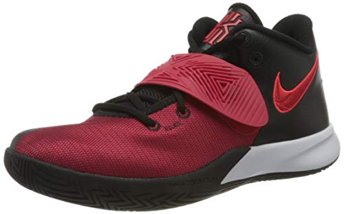 Nike Mens Kyrie Flytrap III Basketball Shoe, Black/University RED-Bright Crimson,44 EU