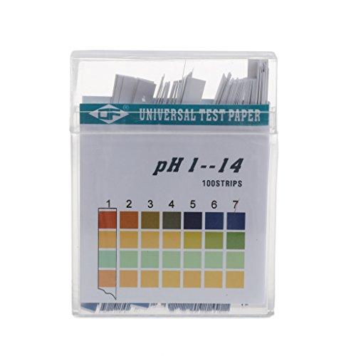 siwetg 100 stroken 1-14 PH alkalinezuur indicator papier water speeksel Litmus Testing Kit