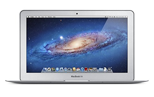 """Apple MacBook Air - Portátil de 11.6"""" (Intel core i5, 4 GB de RAM, Disco SSD 64 GB, Intel HD Graphics, Mac OS X Mavericks), plata -Teclado QWERTY Inglés (Reacondicionado)"""