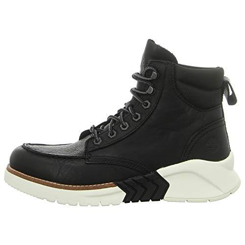 Timberland M.T.C.R. Moc Toe Boot Black Full-Grain 10.5