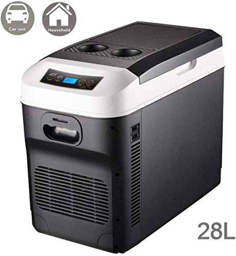 XIUYU Coche de refrigerador del Coche/camión refrigerador de 24V / 12V / 220-240 (28L) Que acampa Portable Frigorífico de Larga Distancia de conducción Jornadas de Camping