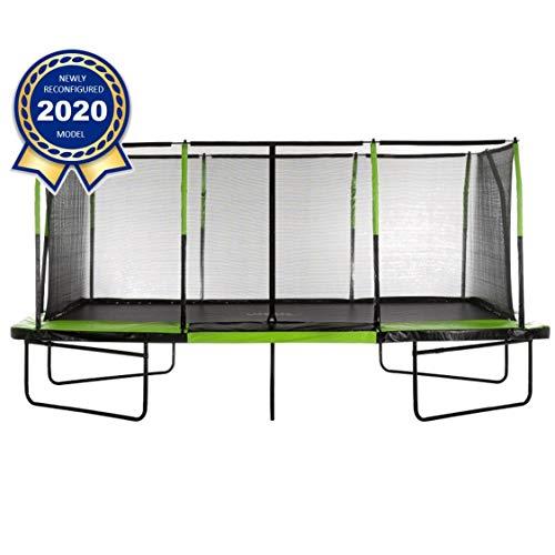 Upper Bounce - Mega 10' X 17' Gymnastics Style, Rectangular Trampoline...