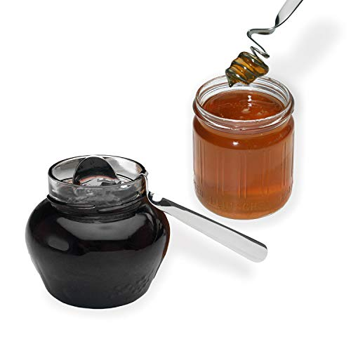 chg 9593-00 Honig-/Marmeladenlöffel-Set aus hochwertigem Edelstahl, rostfrei