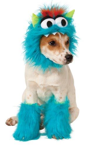 Disfraz para mascota - Monstruo de las galletas azul, perro talla...