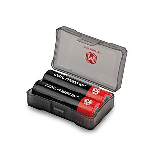 Coil Master 18650 batería funda soporte de batería Funda para todas las baterías tamaño 18650 y más pequeños
