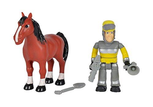 Simba 109259746 - Feuerwehrmann Sam Tierrettung Figuren Set 7,5 cm, - sortiert