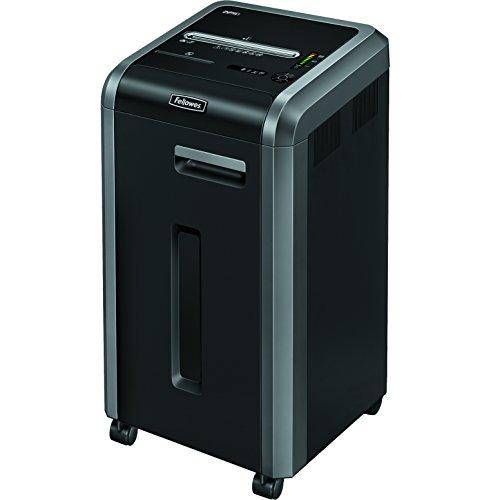 Fellowes Powershred 225Ci Shredder   100% Jam Proof, 20-Sheet, Cross-Cut, Commercial Grade   3825001 model , Black