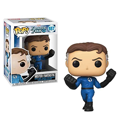 C S POP x Fantastic Four! Mister Fantastic/Reed Richards Figure Comic Collectible Statues Bobbleheads Bust Figure - 3.9inch image