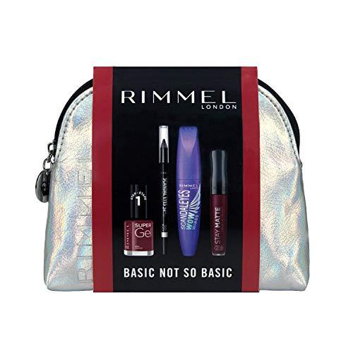 Rimmel London Basic Not So Basic Set de Maquillaje (incluye Máscara Scandaleyes...