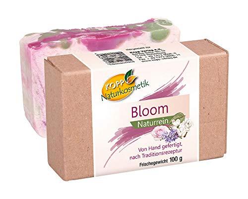 Kopp Naturkosmetik Bloom Seife | Frischegewicht 100 g | Naturrein | von Hand gefertigt